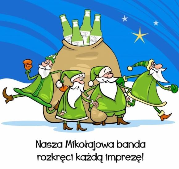 Mikołajkowy tour imprezowy z Cydrem Lubelskim
