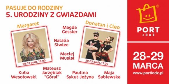 Muzyczne urodziny Portu Łódź