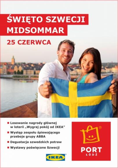 Szwedzkie powitanie lata w Porcie Łódź