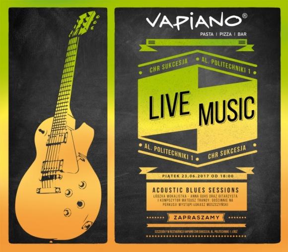 Muzycznie i kobieco w Vapiano w Sukcesji