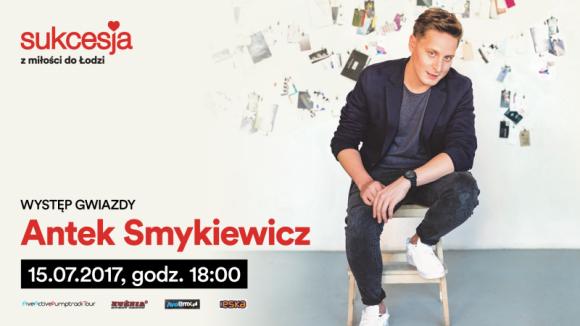 Antek Smykiewicz wystąpi w Sukcesji