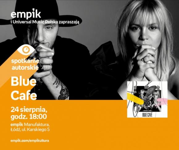 BLUE CAFE – SPOTKANIE AUTORSKIE – ŁÓDŹ