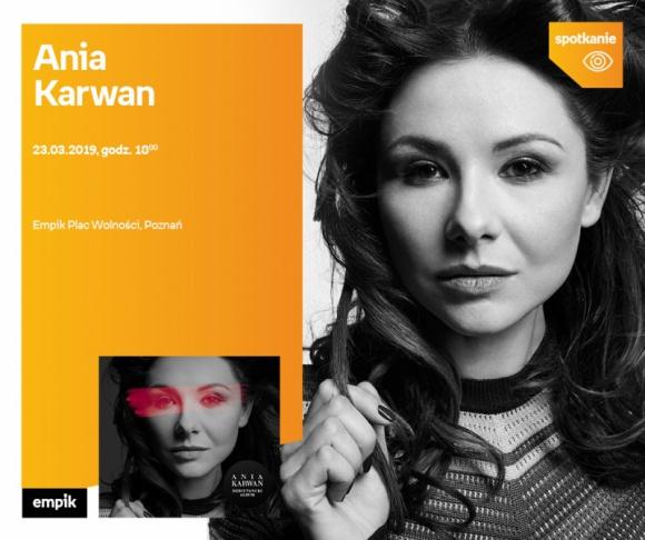 Spotkanie z Anią Karwan w Poznaniu