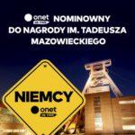 Onet on Tour nominowany do Nagrody im. Tadeusza Mazowieckiego