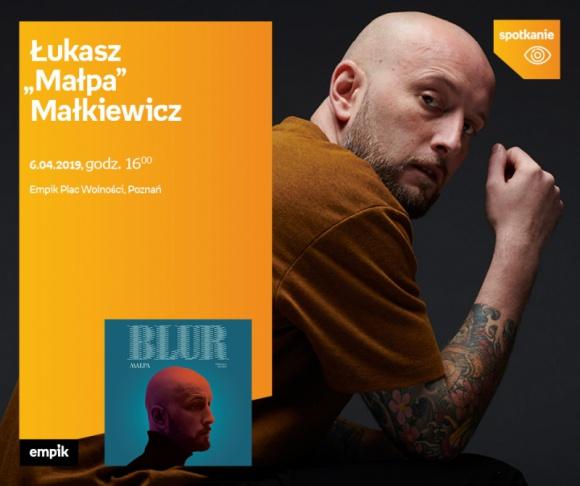 """Spotkanie z Łukaszem """"Małpą"""" Małkiewiczem"""