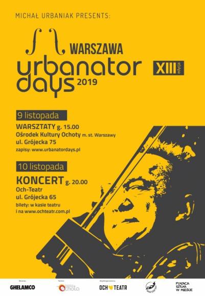 Urbanator Days 2019 – Wielkie Święto Jazzu