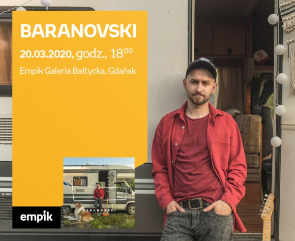 ODWOŁANE BARANOVSKi | Empik Galeria Bałtycka