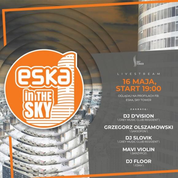 Radio ESKA i Sky Tower: wsparcie dla medyków w stylu klubowym