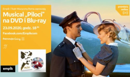 """Spotkania z cyklu #premieraonline z Sitkiem i obsadą musicalu """"Piloci"""""""